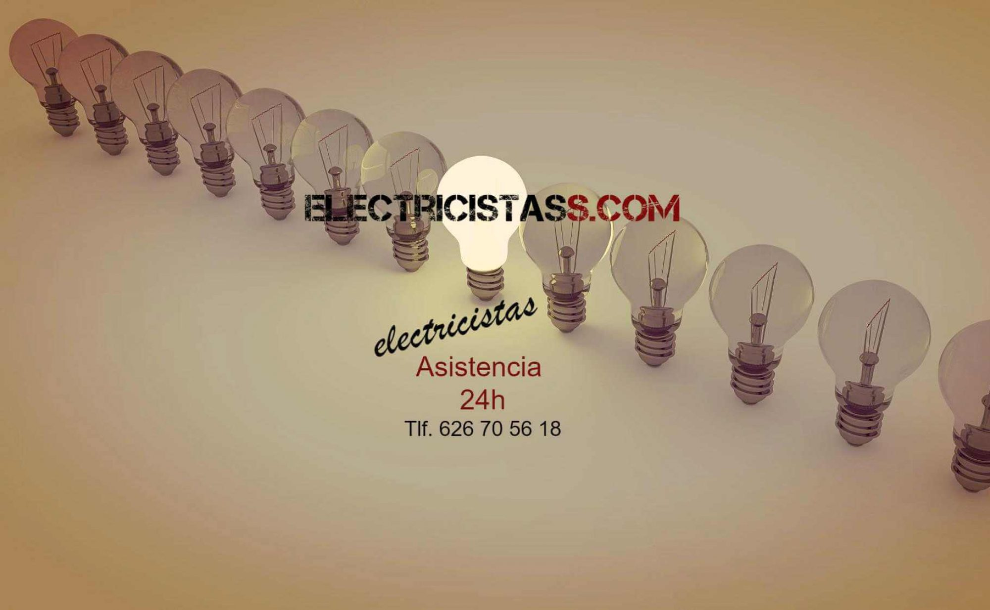 Electricistas Madrid 24 horas