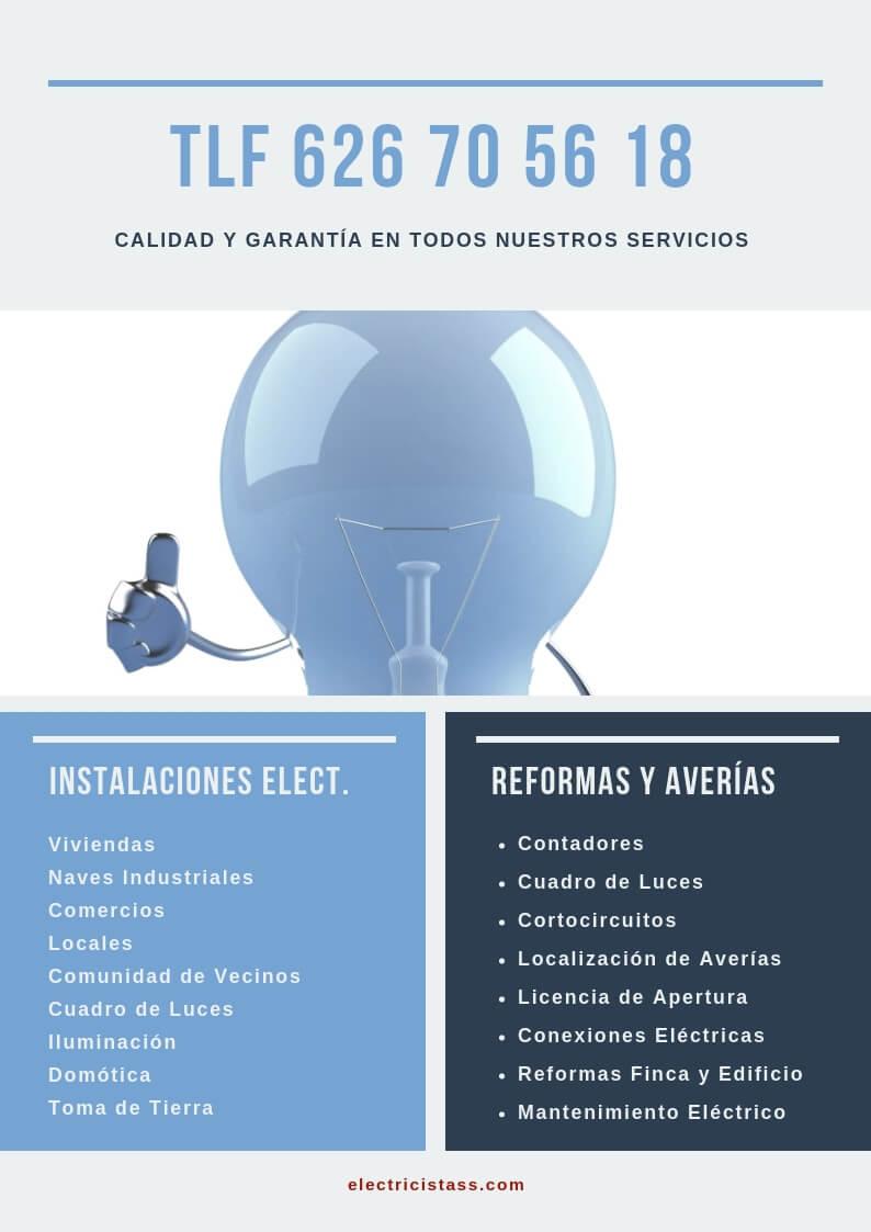 electricista Toledo Capital