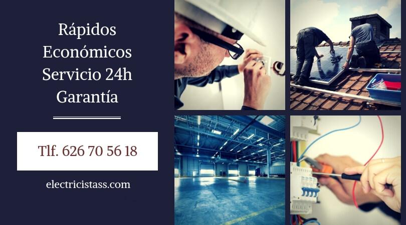 instalacion electricista en Alcobendas